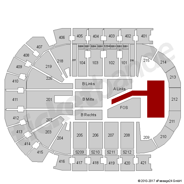 Tickets f r alle veranstaltungen in mercedes benz arena for Mercedes benz tickets