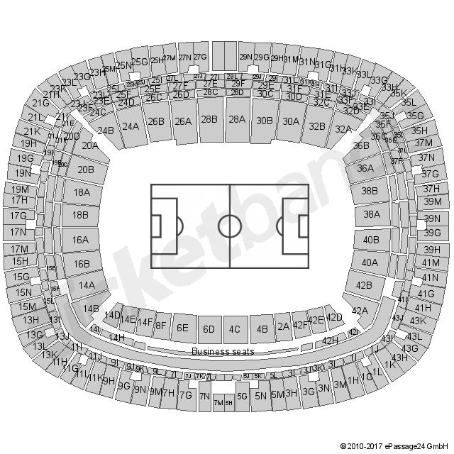 Commerzbank Arena Sitzplan Konzert