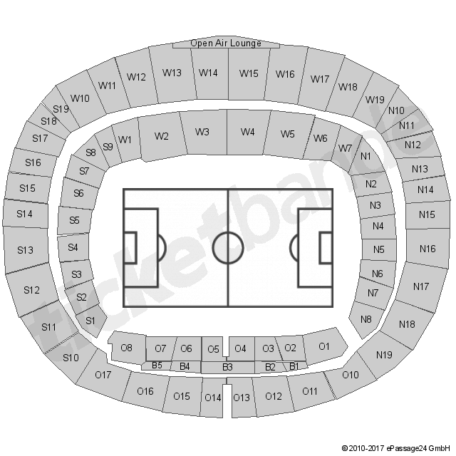 Hannover 96 Sitzplan