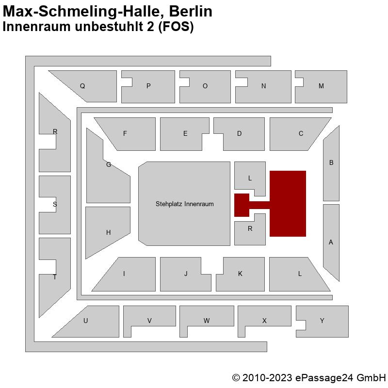 Saalplan Max-Schmeling-Halle, Berlin, Deutschland, Innenraum unbestuhlt 2 (FOS)
