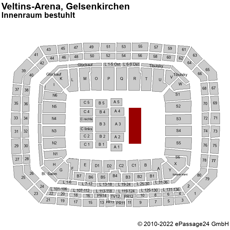 Veltins Arena Sitzplan Konzert