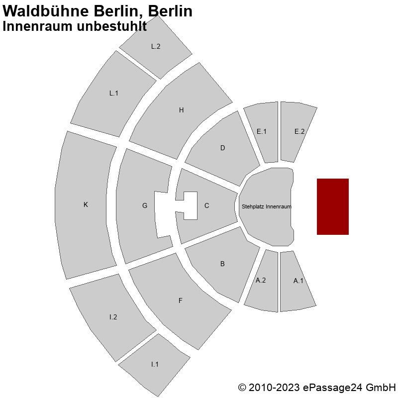 Waldb hne berlin berlin innenraum unbestuhlt saalplan for Innenraum design berlin